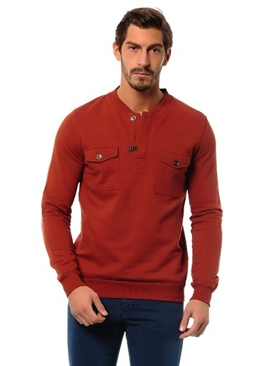 T-Box Sweatshirt Kiremit